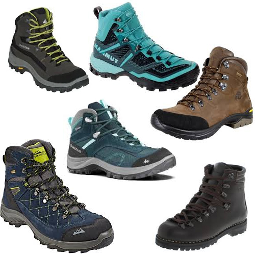 Use firm Hiking boots